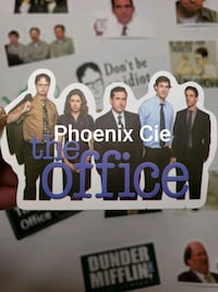 50 autocollants the Office / the Office stickers