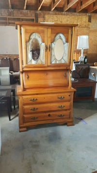 brown wooden dresser with mirror Brampton, L6X