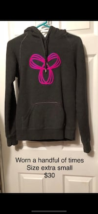 black and pink pullover hoodie Edmonton, T6W 2P3