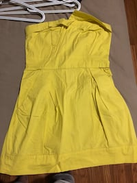 yellow zip-up sleeveless dress Ottawa, K2C 1G8