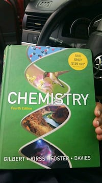 Chemistry fourth edition by Gilbert, Kirss, Foster and Davies book