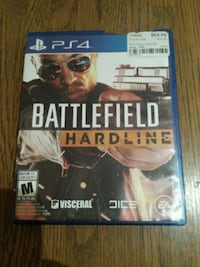 Battlefield Hardline PS4 game case