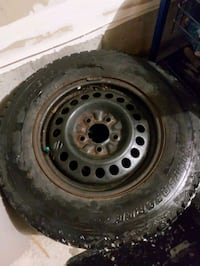 215/70r15 winter tires on rims Innisfil