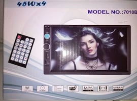 """Car Mp5 Player  7"""" HD touch screen"""