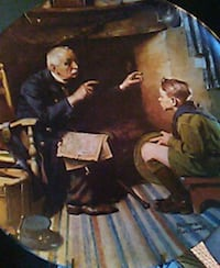 man in black suit jacket and pants painting Cedar Rapids, 52404
