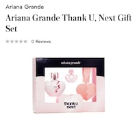 Ariana Grande Thank U, Next Gift Set VANCOUVER