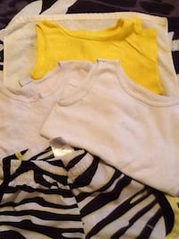 Girls shirt and 3 tops 2 are tank tops Byram, 39272