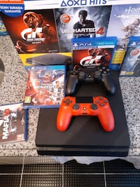 16 AY SONY GARANTILI PS4 SLIM 500 GB