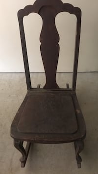 Antique armless rocking chair. Mahoning, 18235