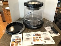 Nuwave Infrared Oven Pro With Extender Ring, Pizza Flipper and CookbookModel 30322 Manassas