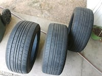 two black rubber car tires Antelope, 95843