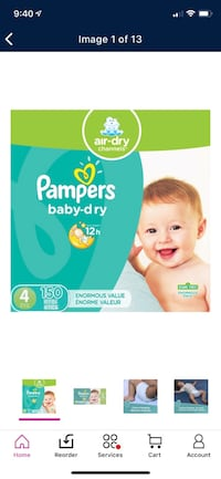Pampers size 4 Syracuse, 13212