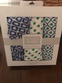 Hudson Bay swaddle blankets New! Whitby, L1P 1N9