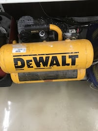 yellow and black DeWalt air compressor Bradenton, 34203