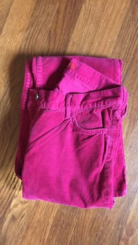 Pink Corduroy Pants  Washington, 20007