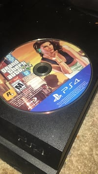 Grand Theft Auto Five PS4 game disc Washington, 20020