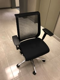 Black and Aluminum Steelcase Think 3D Office Chair Washington, 20003
