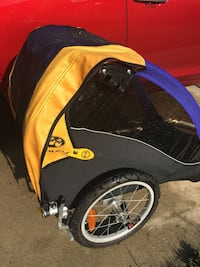 black and yellow bicycle trailer Bensville, 20603