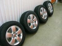 "vW Jetta 15"" alloy wheels and winter tires - $400 (White Rock) White Rock, V4B 4C1"