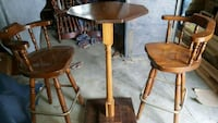 High Bar/ Bistro Table and Chairs