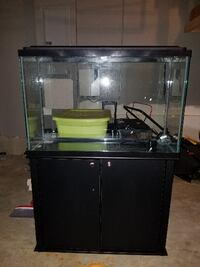 45 Gallon Fish Tank and Stand WOODBRIDGE