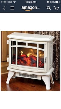 MOVING SALE - leaving October - Electric fireplace style heater
