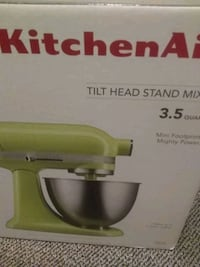 white and gray KitchenAid stand mixer box Portland, 97202