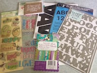 Letters, Stickers, and decorative paper Nashua, 03063