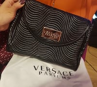 Black and white Versace leather crossbody bag Waltham Cross, EN8 7HD