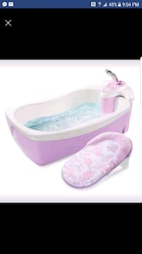 baby's white and pink bather screenshot Kent, 44240