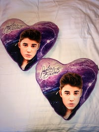 Justin Bieber Heart Pillows Markham, L6E 2B7