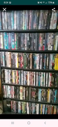 DVD collection w stand