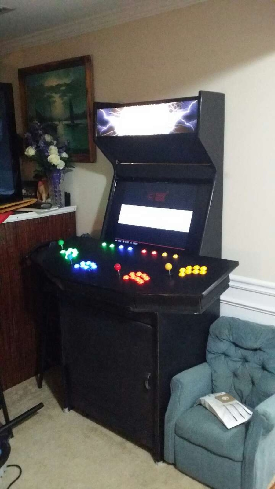 galloping at a arcade gottlieb released ghost prototype never now custom cabinet argus