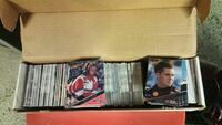 assorted trading card collection