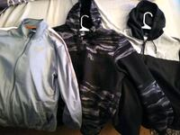 Nike, Puma Hoodie, jacket lot. $20 for all (3). Worcester, 01605