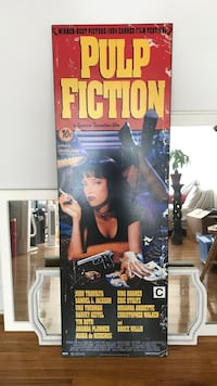 Pulp fiction XL Movie poster Montréal, H4B 1P3