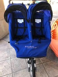 Blue and black the north face backpack Arroyo Grande, 93420