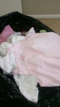Clothes for baby girl is for 3 in 6 months