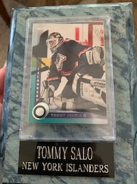 NY Islander Tommy Salo Plaque North Bellmore, 11710