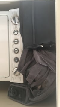 Air mattress and suitcases great condition