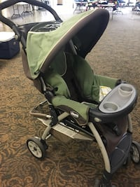 baby's black and green Chicco stroller Portsmouth, 23703