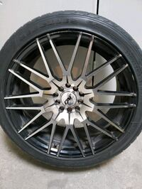Two sets of 18 rms on tires