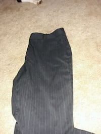 Black pin stripe slacks Stafford, 22554