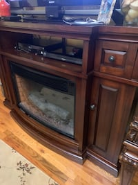 Tv stand (electric fire place)