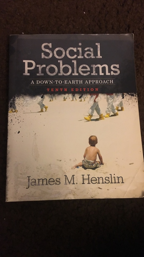Used Social Problems By James M Henslin For Sale In Los Angeles Letgo