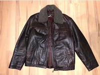 Brown Leather Jacket Ottawa