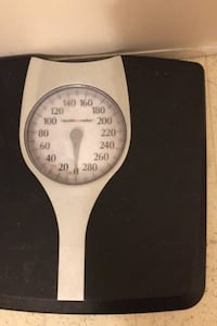 Black Easy to Read SCALE Measures POUNDS/LBS