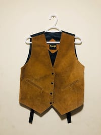 Brown Leather Vest Toronto, M5T 1C7