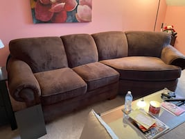 Sofa (Couch) with Cuddler section