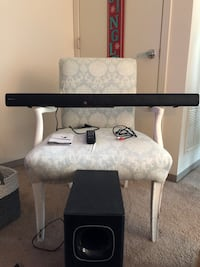 Rockville Soundbar with Sub Woofer. Everything included. Never used!